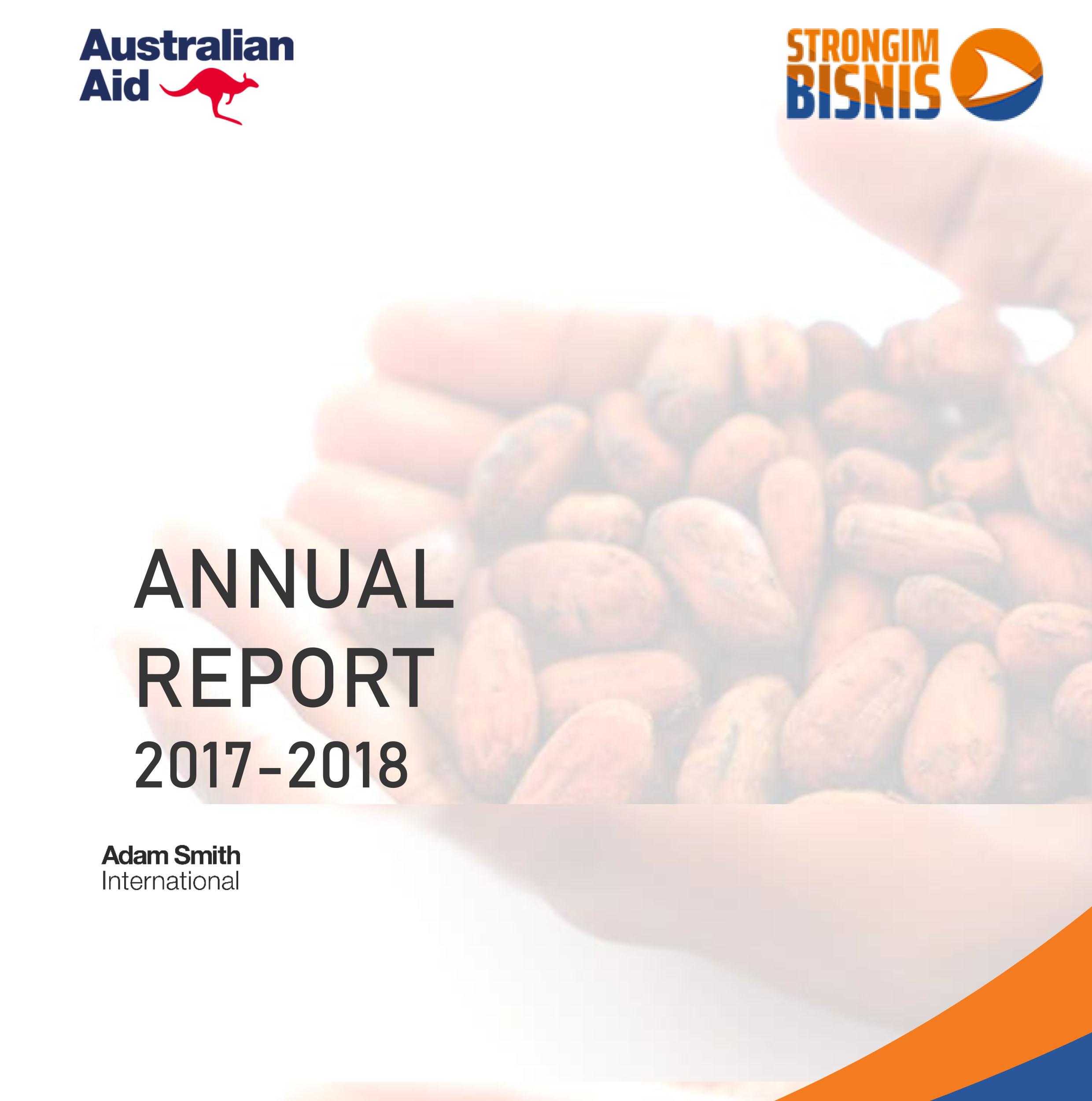 2018 Annual Report Strongim Bisnis