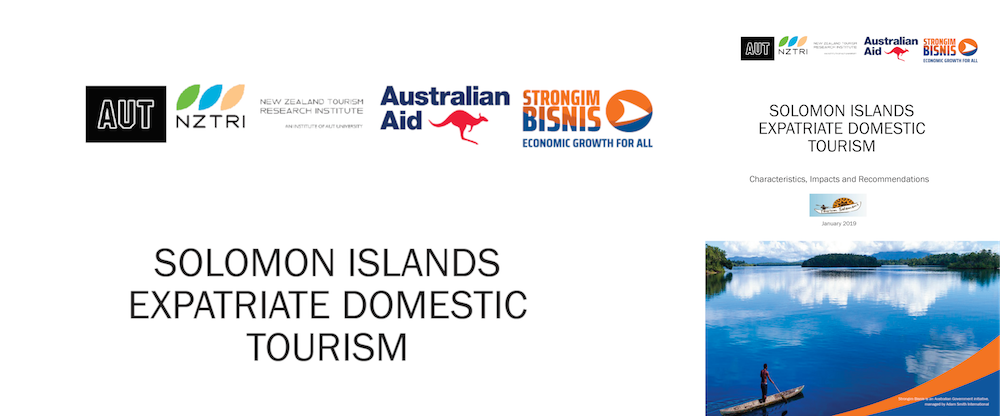 Report on Expatriate Tourism in the Solomon Islands 2018