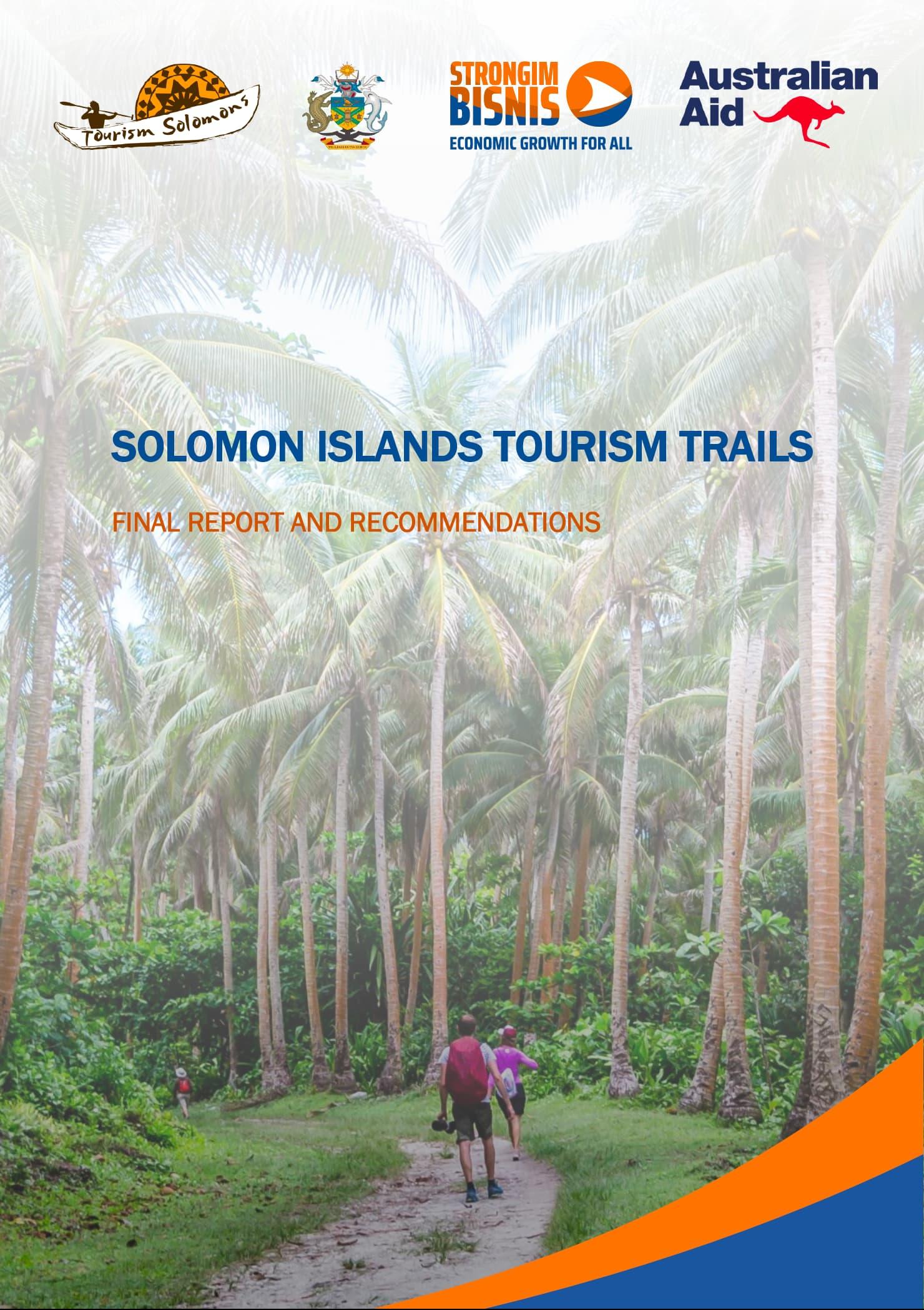 Solomon Islands Tourism Trails Report 2019